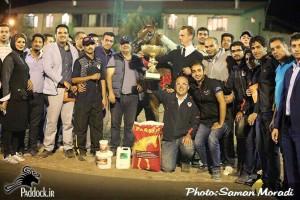 Forelock's Veronique Iran Gold Champion